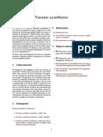 Varanus acanthurus