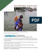 Record Rains Flood Tamil Nadu More to Come