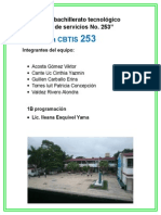Propuesta CBTIS 253 Verde