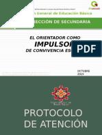 Proyecto Convivencia Escsecundarias 2