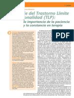 Paciencia y Constancia en Terapia TLP
