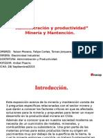 Exposicion Mineria y Mantencion