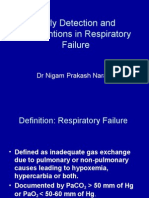 Early Detection and Management of Respiratory Failure