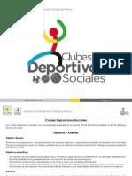 Clubes Deportivos Sociales