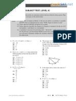 ARCO SAT Subject Math Level 1 Practice Test.pdf