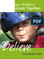 Orange Children & Parent Together - Annual Report 2009