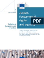 Justice and Fundamental Rights - EU Policy