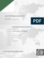 autoethnography by paul bernal