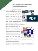 Aplicación de La Termodinamica en La Produccion Del Oxigeno Medicinal e Industrial