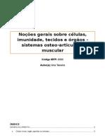 Manual UFCD 6565 Noções Gerais Sobre Células, Tecidos e Imunidade