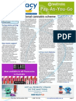 Pharmacy Daily for Thu 03 Dec 2015 - National cannabis scheme, DAA outsourcing possible, FIP Green Pharmacy call, Travel Specials and much more