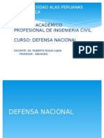 Defensa NacioRnal 12 Abril
