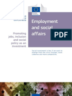 Employment and Social Affairs - EU Policy