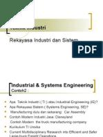 Apa Teknik Industri