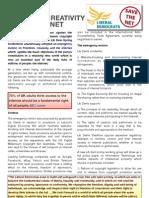 Save the Net Factsheet