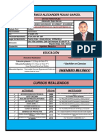 Resumen Curricular Alexander R 30-06-2015