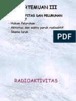 Materi 3 Radioaktivitas 2010