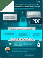 Infografía Recurso Vs. Cisen sobre contratación de la empresa Hacking Team