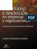 Creatividad e Innovación en Empresas y Organizaciones 1ed - Andrés Fernández Romero
