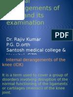 Internal Derangement of Knee -2