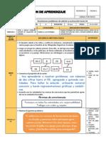 SESION DE MATEMÁTICA PRIMER GRADO
