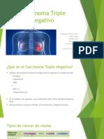 Carcinoma mamarioTriple Negativo