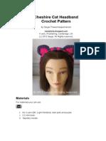 Cheshire Cat Headband