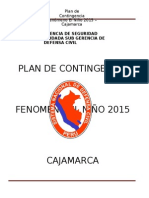 Plan Fenomeno Niño