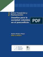 Desafios de La Sociedad Colombiana en El Posconflicto