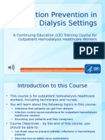 Infection Prevention Dialysis Settings Rev 8-29-12