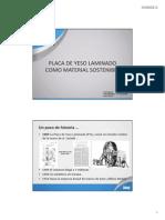 La Placa de Yeso Laminado Como Material Sostenible KNAUF Fenercom 2012