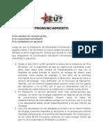 Pronunciamento Credencial FEC