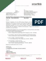 Disclosure under Reg. 30 of SEBI (Listing Obligations & Disclosure Requirements) Regulations, 2015 [Company Update]