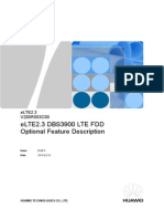 DBS3900 LTE FDD Optional Feature Description YYY