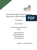 Proyecto Torno Para Madera Masterizado by Oktavio