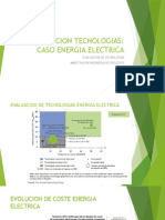 Evolucion Tecnologias Caso Energia Electrica
