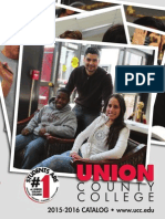 Union County College 2015-16 Catalog