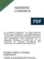 INGENERIA ECONOMICA