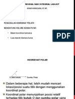 Differensial Integral Lanjut Per3 Koordinat Polar