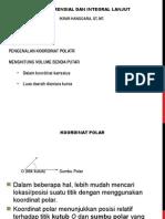 Differensial Integral Lanjut Per3 Koordinat Polar
