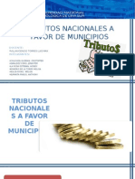 Tributos Nacionales a Favor de Municipios
