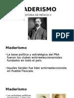 MADERISMO