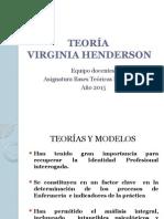 TEORÍA Henderson y Modelo Majorie Gordon