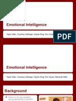 emotional intelligence project