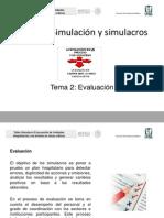 13. Evaluacion de Simulacros