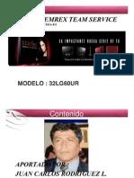 Entrenamiento LCD Scarlet 32LG60-2