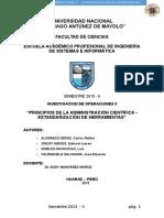 Estandarizacion de Herramientas (1)