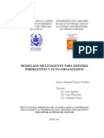 Niriaska Perozo Guédez. Modelado Multiagente Para Sistemas Emergentes y Auto-Organizados
