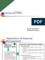 BudgetingBudget