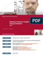 Banking Pricing Analytics